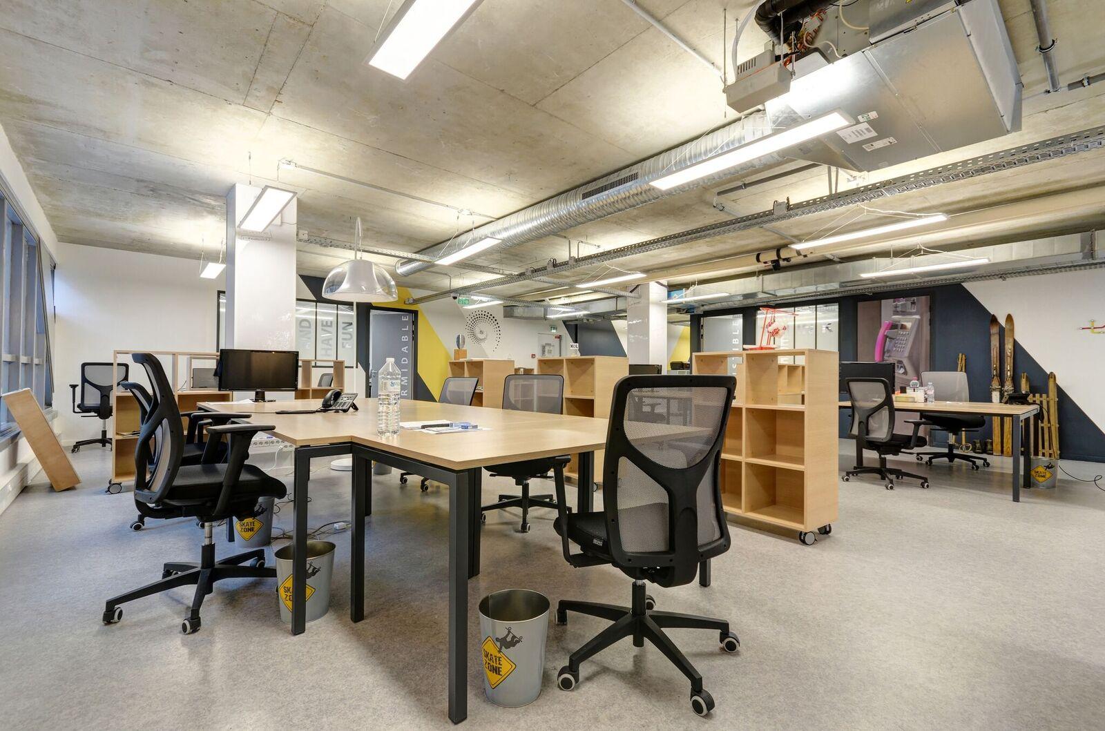 De larges espaces de travail