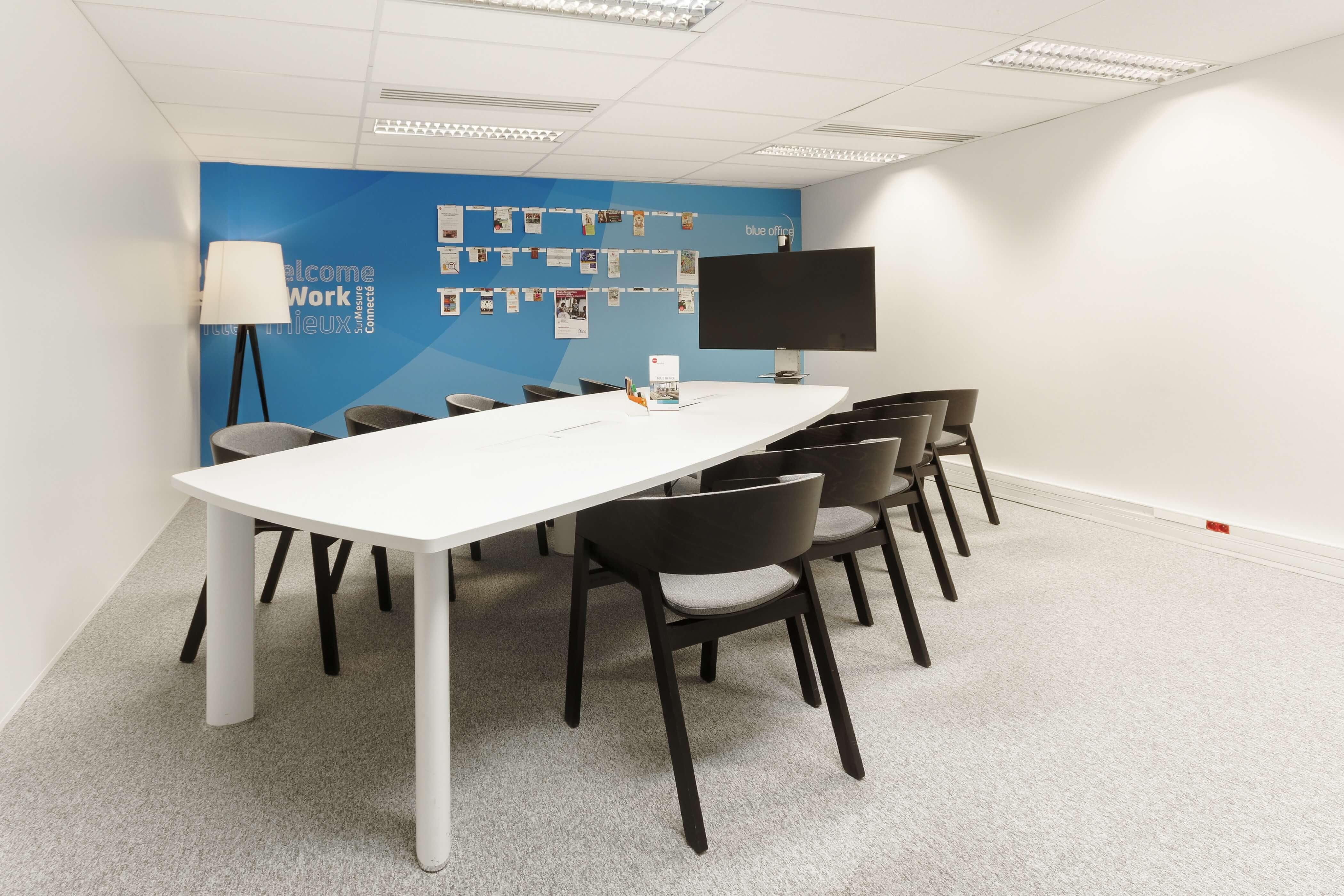 Blue Office, un coworking d'un nouveau genre