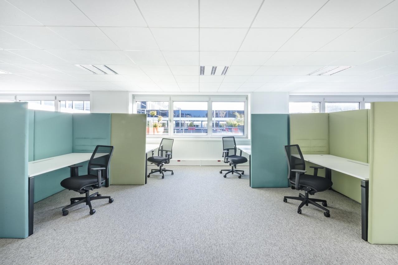 Blue Office, des bureaux larges et spacieux