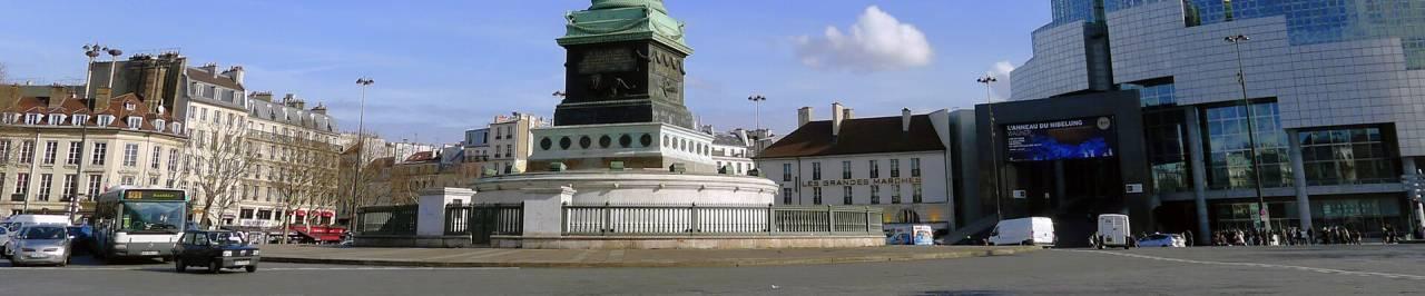 Location de bureaux à Paris, Bastille